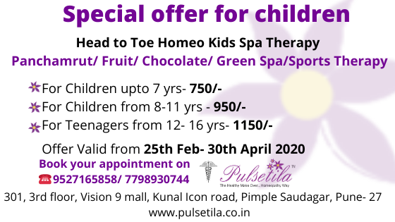 Special offer for children